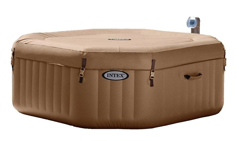 4 Person Octagonal 210 Gallon Spa